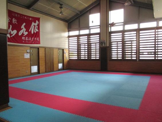 2階空手道場(トレーニング室)
