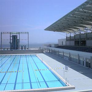 児島マリンプール(児島地区公園水泳場_50mプール