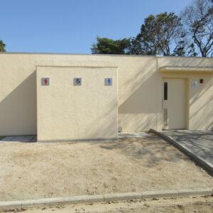 福田 第二駐車場 多目的トイレ