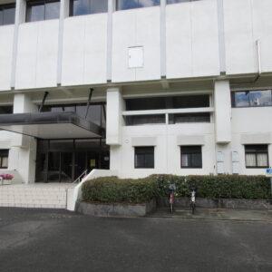 福田 体育館 西玄関