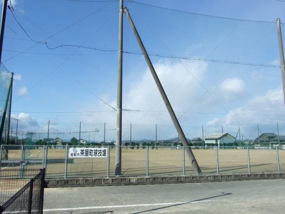 倉敷市茶屋町球技場 遠景
