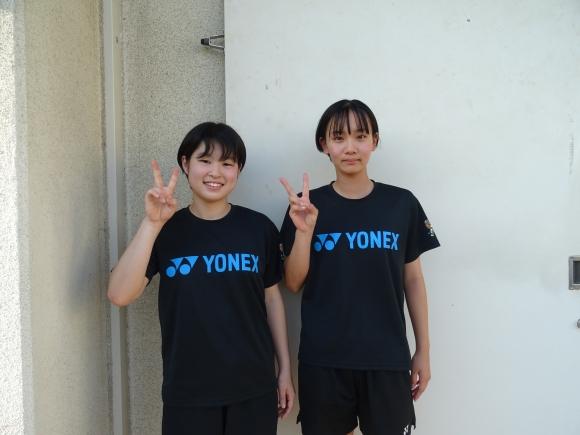 吉川選手(左)・中原選手(右)